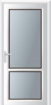 Κουζινόπορτα αλουμινίου σχέδιο 4,υβριδικά συστήματα αλουμινίου