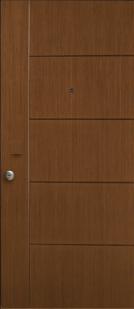 Θωρακισμένη παντογράφου πόρτας ασφαλείας από την Fenestral