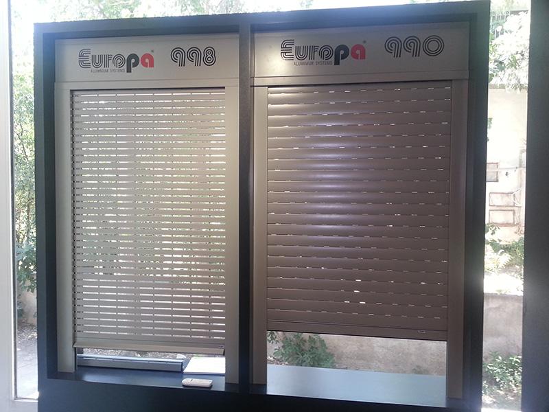 EUROPA 990 Διάτρητα ρολά