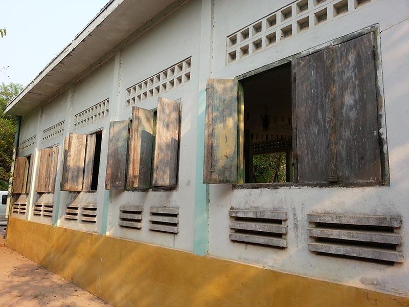 Ιστορικά κτίρια παράθυρα και πόρτες