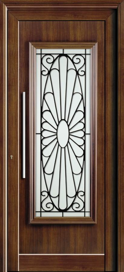 Πόρτα Europa με κάγκελα ασφαλείας,πτυσσόμενα κάγκελα αλουμινίου Fenestral.
