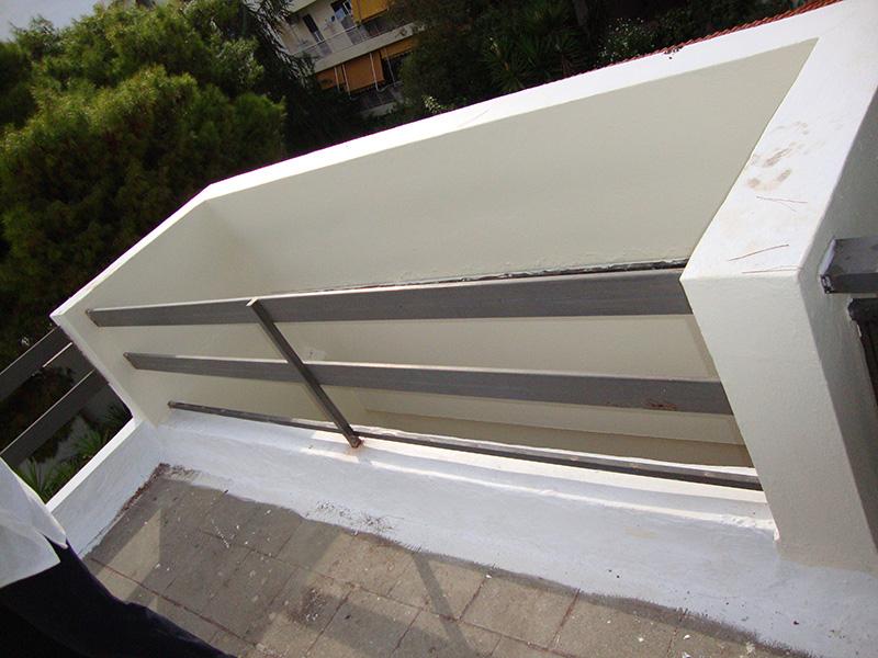 Κάγκελα αλουμινίου τύπου inox16