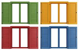 Συνδυάστε τα χρώματα τοίχων και κουφωμάτων αλουμινίου