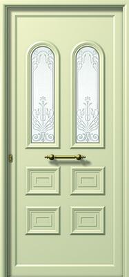 Πόρτα εισόδου αλουμινίου E551 AMMOVOLI