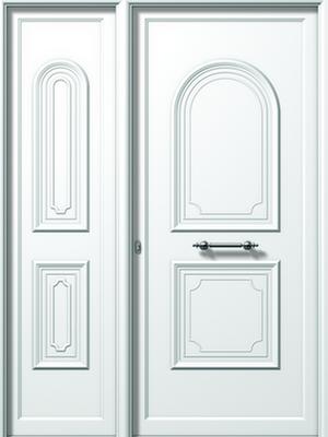Πόρτα εισόδου αλουμινίου E554-E540,κουφώματα αλουμινίου