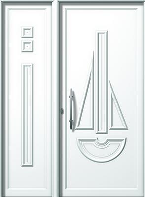 Πόρτα εισόδου αλουμινίου E562-E875