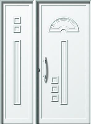 Πόρτα εισόδου αλουμινίου (N E562-E884)-κουφώματα αλουμινίου femnestral