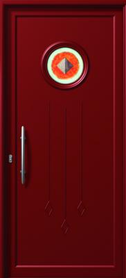 ΠΟΡΤΑ ΕΙΣΟΔΟΥ ΑΛΟΥΜΙΝΙΟΥ E848 FUSED,αλουμινίου πόρτα