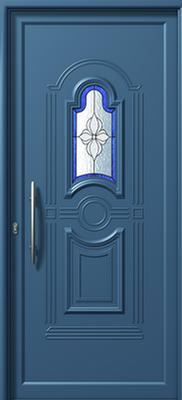 Πόρτα εισόδου αλουμινίου E871 DECO-αλουμινίου κουφώματα