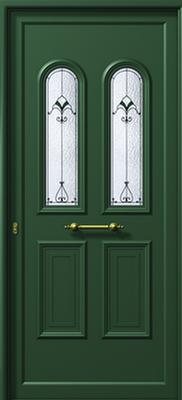 Πόρτα εισόδου αλουμινίου E900 DECO