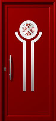 Πόρτα εισόδου με inox,ενεργειακά κουφώματα αλουμινίου