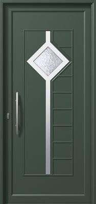 Πόρτα εισόδου με inox (ΚΩΔ.I363 CA),υδατοστεγανότητα και ηχομόνωση κουφωμάτων