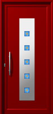 Πόρτα εισόδου με inox (ΚΩΔ.I376 FU),αλουμίνια με κλειδαριές ασφαλείας