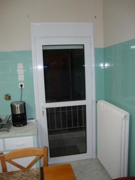 Κουζινόπορτα αλουμινίου σχέδιο 45,θερμομονωτικά συστήματα αλουμινίου