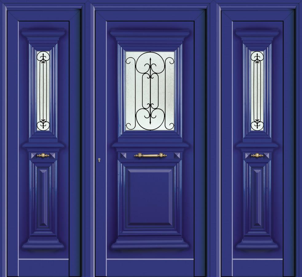 Πόρτα εισόδου πολυκατοικίας,συστήματα αλουμινίου Europa
