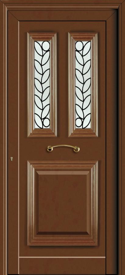 Πόρτα εισόδου με σιδεριά,ενεργειακά κουφώματα αλουμινίου
