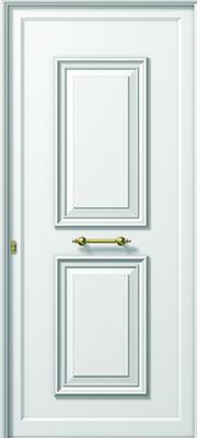 Πόρτα εισόδου αλουμινίου παραδοσιακή ,ενεργειακά κουφώματα αλουμινίου