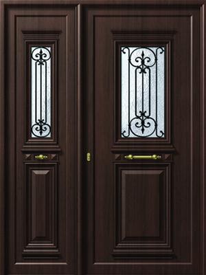 Παραδοσιακή πόρτα αλουμινίου,ενεργειακά κουφώματα αλουμινίου Fenestral