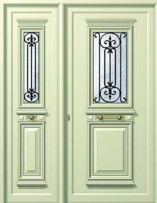 Πόρτα εισόδου παραδοσιακή άσπρη,πόρτες εισόδου πολυκατοικιών