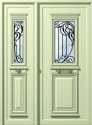 ΠΟΡΤΑ ΕΙΣΟΔΟΥ ΠΑΡΑΔΟΣΙΑΚΗ P175-P170,πόρτες εισόδου πολυκατοικίας και μονοκατοικίας