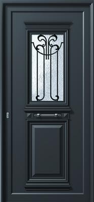 ΠΟΡΤΑ ΕΙΣΟΔΟΥ ΠΑΡΑΔΟΣΙΑΚΗ P183,παράθυρα αλουμινίου,μπαλκονόπορτες