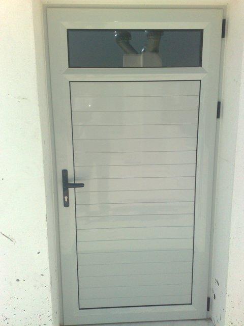 Κουζινόπορτα αλουμινίου επικαθήμενος φεγγίτης,πόρτα κουζίνας με θερμοδιακοπτώμενα αλουμίνια