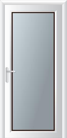Κουζινόπορτα αλουμινίου σχέδιο 01,ηχομονωτικά-θερμομονωτικά κουφώματα αλουμινίου