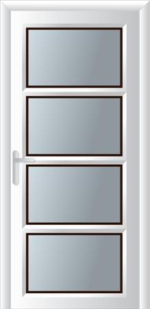 Κουζινόπορτα αλουμινίου σχέδιο 8,κατασκευή και τοποθέτηση κουφωμάτων
