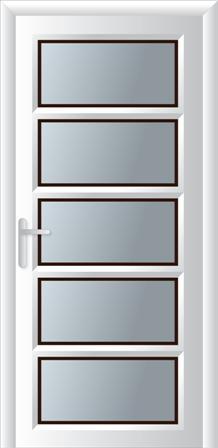 Κουζινόπορτα αλουμινίου σχέδιο 9,κατασκευή κουφωμάτων αλουμινίου