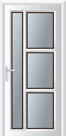 Πόρτα κουζίνας σχέδιο 13,αλουμινίου κουφώματα Europa