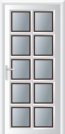 Κουζινόπορτα αλουμινίου σχέδιο 16,εγκατάσταση κουφωμάτων Fenestral