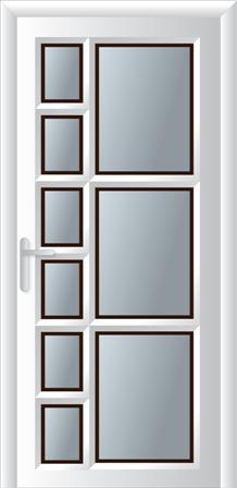 Κουζινόπορτα αλουμινίου σχέδιο 17,ηχομονωτικά και θερμομονωτικά κουφώματα αλουμινίου