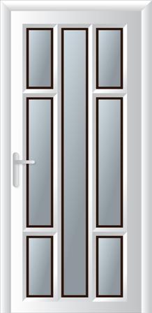 Κουζινόπορτα αλουμινίου σχέδιο 19,τοποθέτηση κουφωμάτων Fenestral