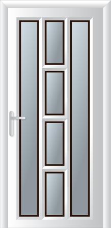 Πόρτα κουζίνας σχέδιο 20,αλουμίνια Europa από την Fenestral