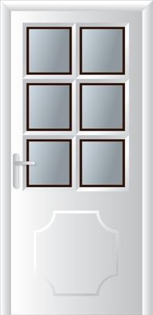 Κουζινόπορτα αλουμινίου σχέδιο 21,αντικατάσταση κουφωμάτων Fenestral