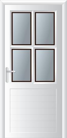 Κουζινόπορτα αλουμινίου σχέδιο 26,ηχομονωτικά και ενεργειακά κουφώματα αλουμινίου